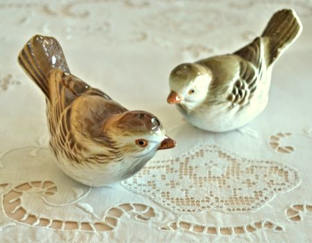 Bird Salt and Pepper Shakers
